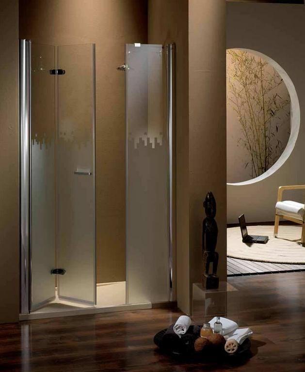 T ria mampara de ducha plegable aquamamparas productos for Mampara ducha plegable