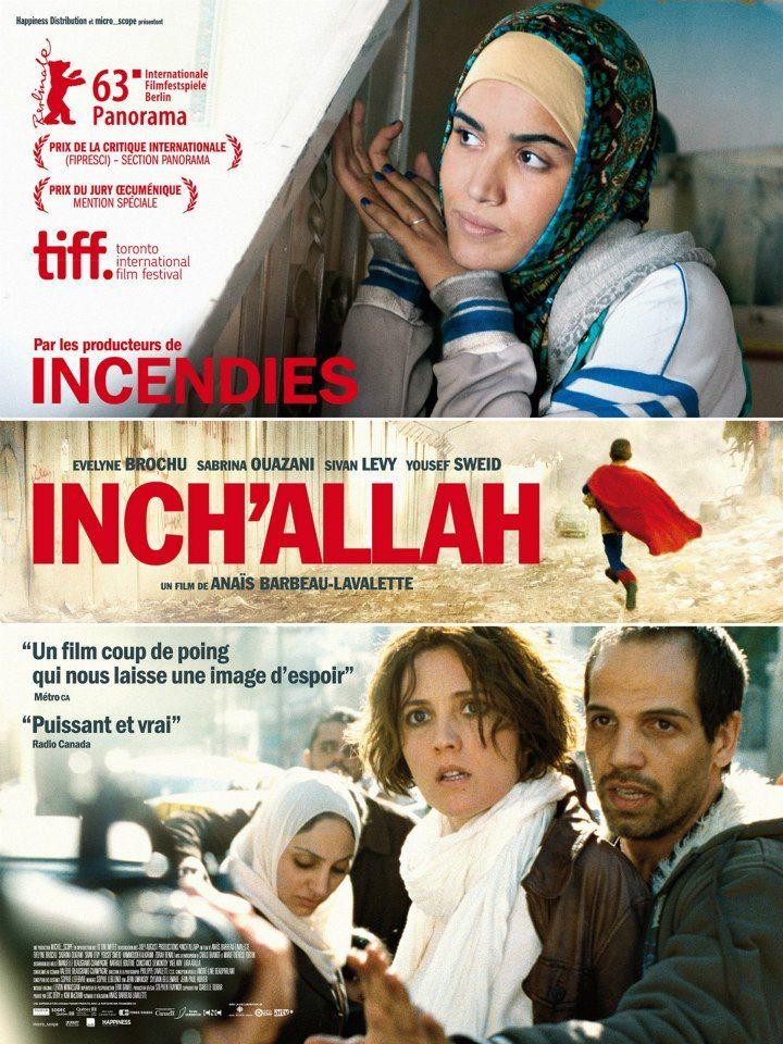 JJJ ...Inch'Allah de Anaïs Barbeau-Lavalette (2011) // Sortie le 03.04.13 ...