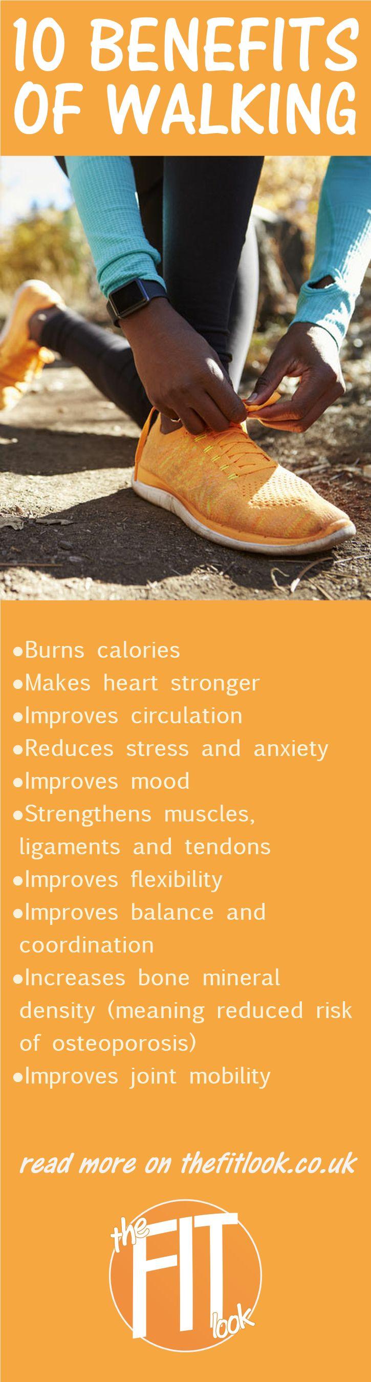 Best 25+ Health benefits of walking ideas on Pinterest ...