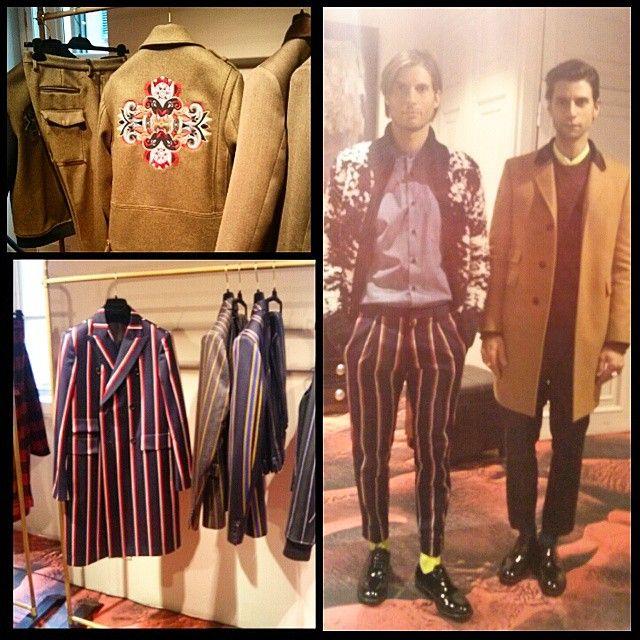 #MauroGrifoni collezione uomo autunno inverno 15-16 #MFW #Fashion #milano #PhotoGrid