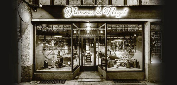 Hammer & Nagel - Maniküre nur für Männer in München