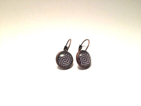 12 mm earrings cabochon vemyo