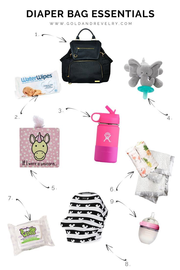 Diaper Bag Must Haves For Toddlers And Infants