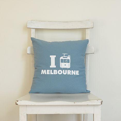 Petit Cushion, I Tram Melbourne