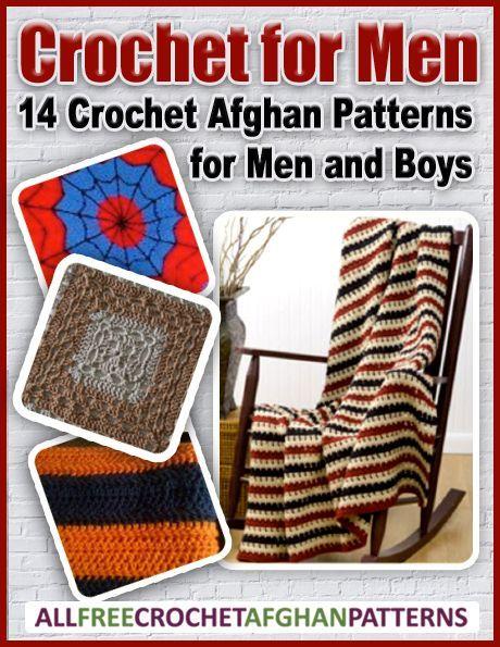 Häkeln für Männer: 14 afghanische Häkelanleitungen für Männer und ...