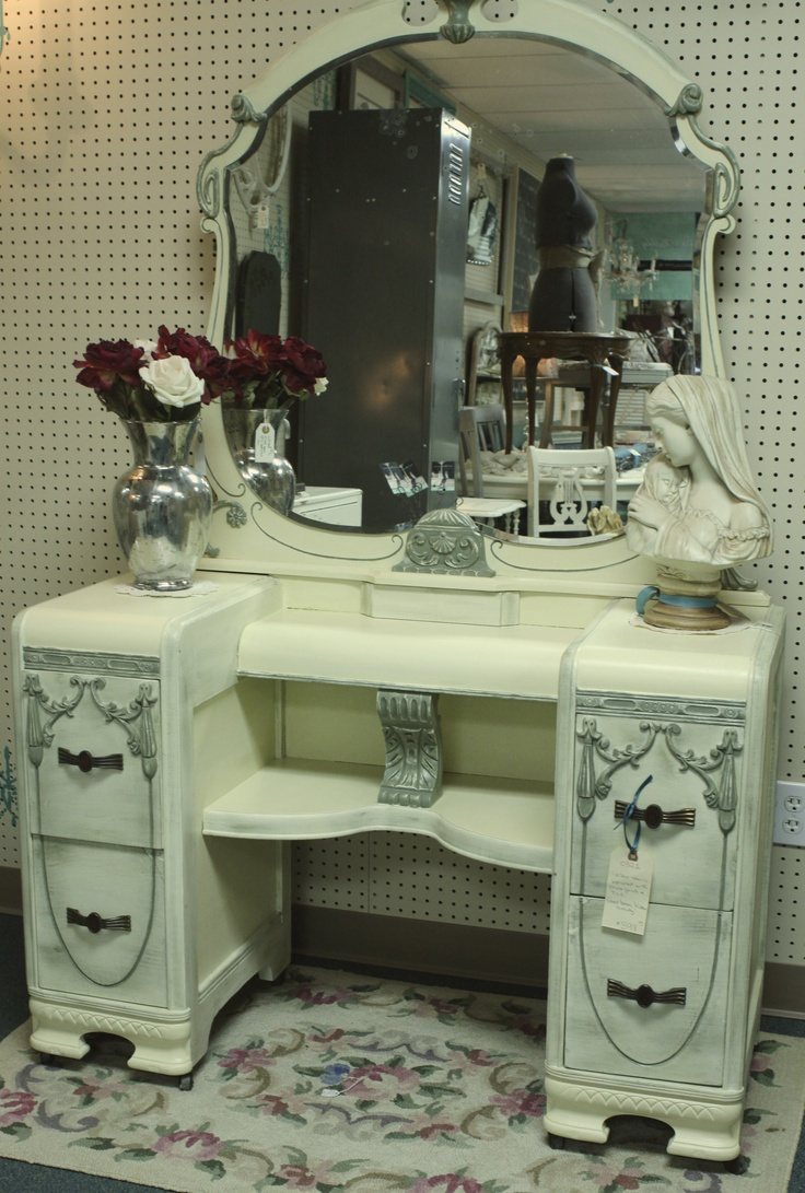 Classic beauty done up with chalk paint country grey for Furniture repair homestead
