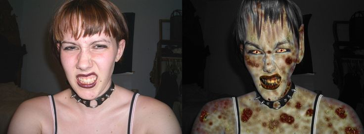 An experminent in Photo Manipulation.  The original Image on the left by SF-Stock (http://sf-stock.deviantart.com/), the manipulated image on the right by me.  The skin condition was rendered in Lightwave 3D to get the 3D crusty look, everything else was done in PSP and used somewhere around 5 different layers.  I'm so glad she approved!