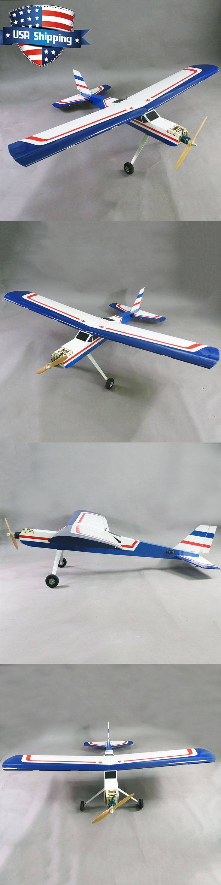 Airplanes 182182: 73In Giant Aviator 75-90 Nitro 20Cc Gas Balsa Rc Trainer Airplane Arf Kit -> BUY IT NOW ONLY: $99.99 on eBay!