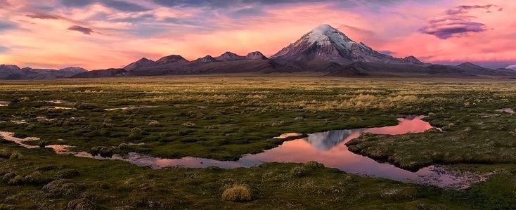 Sajama. (6780 м) #боливия Автор: М.
