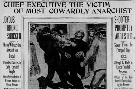 William McKinley assassination, 1901