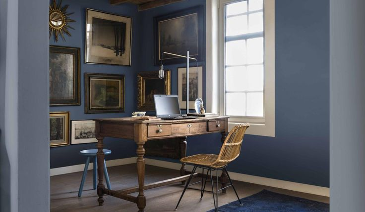 Dulux Colour of the Year 2017: Denim Drift - a smoky, calming grey-blue - is set to make its way into our homes | Homes and Property