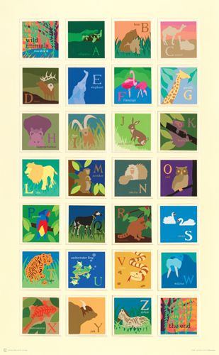 Alphabet Poster by Carolyn Sienicki www.risdworks.com... Alphabet Illustration Carolyn_Sienicki
