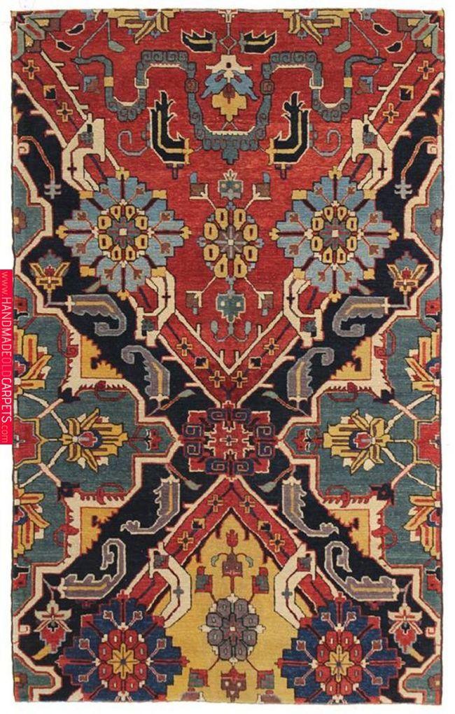 Karabagh Fragment Design Rug Via Landry Arcari Rug Spotlight Pinterest Rugs Carpet Design And Carpet Rugs On Carpet Patterned Carpet Carpet Design