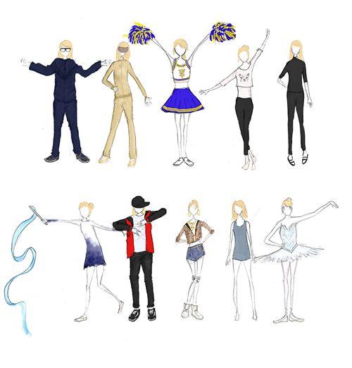 Shake It Off Fashion - Taylor Swift Fan Art (37507543) - Fanpop