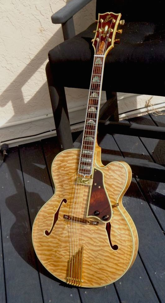 Gibson L 5CT '59 Reissue 1983 Quilted Maple Guitar For Sale Guitarbroker