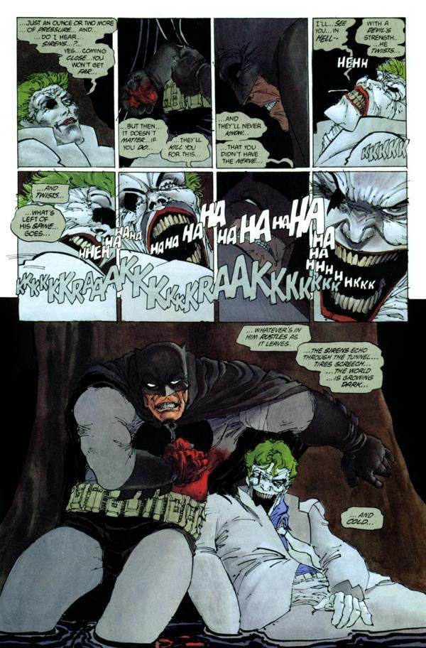 ©Frank Miller | Comics | Pinterest | Batman batman, Jokes ...