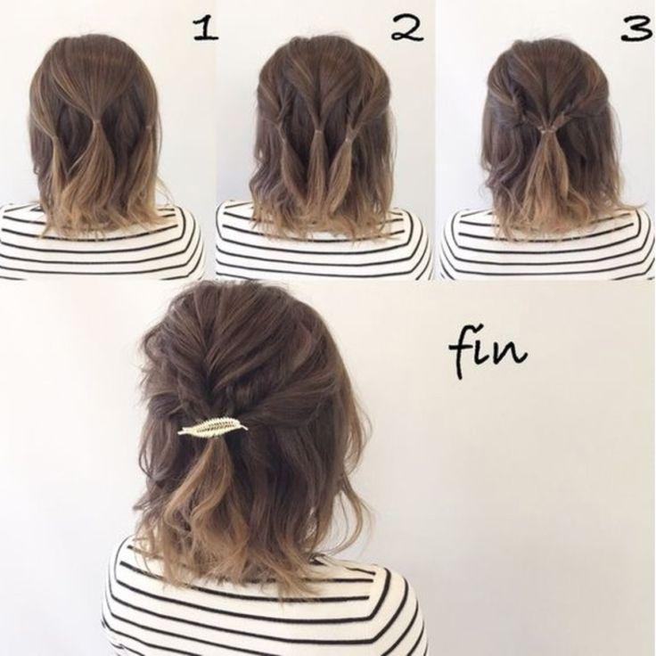 20 einfache Half-Up-Frisuren, die nur wenige Minuten dauern  #dauern #einfache #frisuren #minuten #wenige