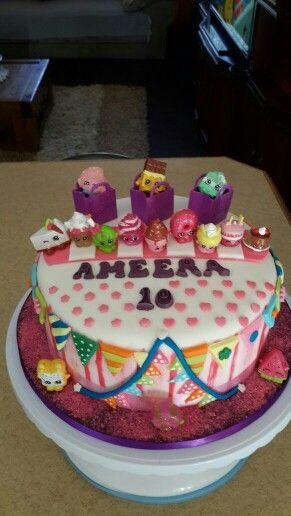 Shopkind Birthday cake