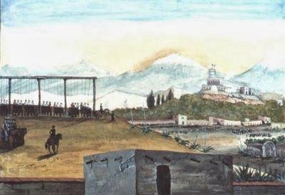 1847 . LA GUERRA DE TEXAS . EN MEMORIA DEL HEROICO BATALLON DE SAN PATRICIO