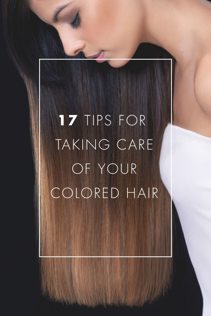 Hairfinity hair growth vitamins reveals 17 tips for taking care of your colored hair. CLICK HERE to read http://hairfinity.com/blog/hair-growth-vitamins-tips-colored-treated-hair/ #GrowLongerHair