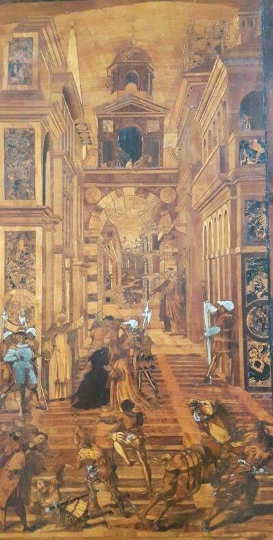 Coro Intarsiato.  Frate Domenico Zambelli.  1528 -1555