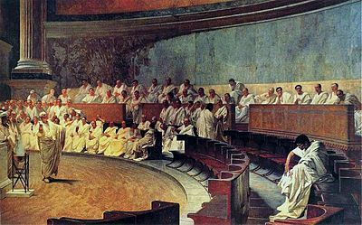 Maccari-Cicero - Catiline Orations - Wikipedia, the free encyclopedia