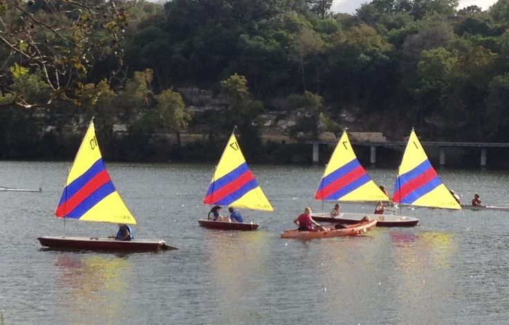 It's so easy to learn how to sail at Austin Sailboat Rentals