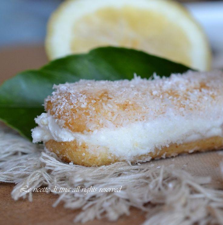 Pavesini al limone veloci,con crema senza cottura