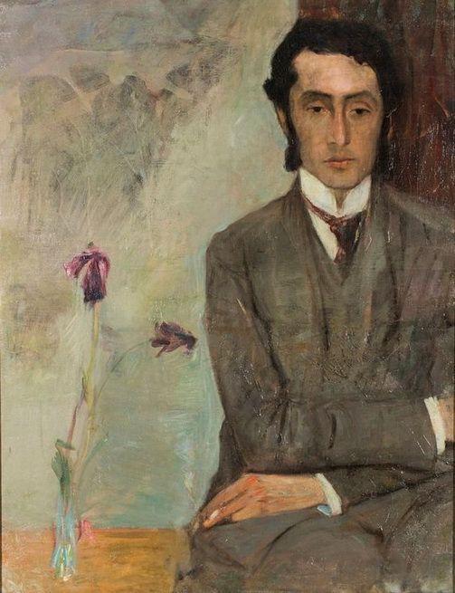 """huariqueje: """"Retrato del Dr. Kupczyk - Leopold Gottlieb 1907 de Polonia 1883-1934"""""""