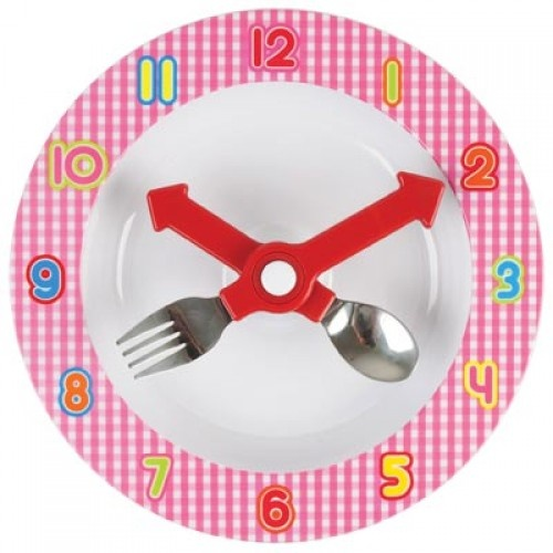 Dinner Time Set Pink available at As Your Child Grows - asyourchildgrows.com.au