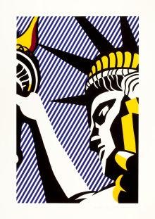 More Lichtenstein art. Nice wallpaper
