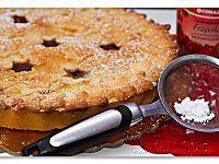 Crostata traforata con confettura, ricetta con tutorial