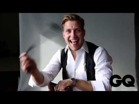 Suicide Squad Actor Jai Courtney GQ Behind The Scenes Shoot For MOTY 15 - YouTube