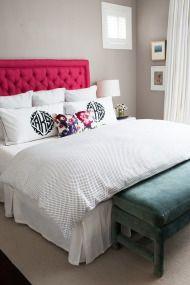 Alexandra Kaehlers Pink U0026 Black Bedroom