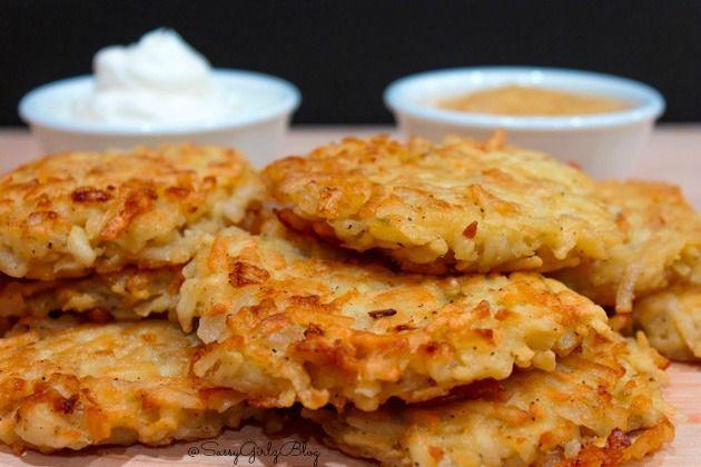 Potato Latkes Recipe - Hashbrowns Deliciously Quick and Easy!