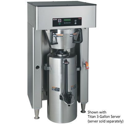 Bunn 39200.0000 (Titan Dual) - Commercial Coffee Maker Brewer - Bunn Commercial Coffee Makers - ZESCO.com