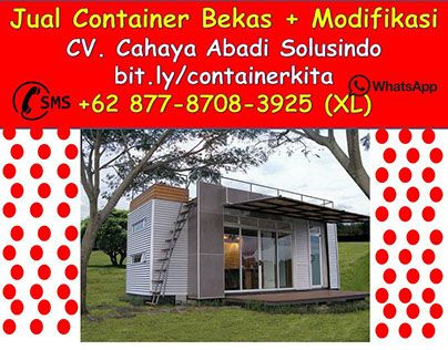 """Check out new work on my @Behance portfolio: """"+62 877-8708-3925 (XL), Jual Container Modifikasi,"""" http://be.net/gallery/50658707/62-877-8708-3925-(XL)-Jual-Container-Modifikasi"""
