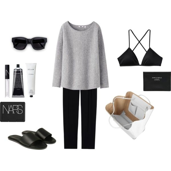 MINIMAL + CLASSIC: Basic comfort by grace-mxo on Polyvore featuring Uniqlo, Patagonia, Common Projects, Alexander Wang, Acne Studios, NARS Cosmetics, Grown Alchemist and Rodin Olio Lusso