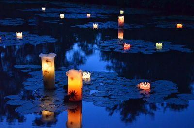 【モネの庭】夜間開園~キャンドルの夜~ 9月10日、午後5時から。 北川村「モネの庭」マルモッタン、とっても雰囲気のいいところでまさにモネのえの中に行ったような感覚になれるところです! そんな「モネの庭」の夜間営業が9月10日(土)にあるんですけど、そのときフラワーキャンドルなどの灯りがモネの庭を飾るんですよ! 当日は体験イベントやコンサートがあるみたい。