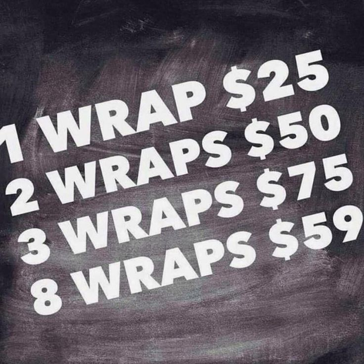 BOGO wraps! Sept 23rd !! Wow!! http://www.carlaseverson.itworks.com
