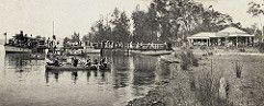 Wangi shoreline, Lake Macquarie, NSW, Australia [c.1920's] | by UON Library,University of Newcastle, Australia