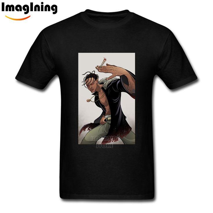 Hip Hop Homme Fashion La Flame Rodeo Tour Travis Scotts Tee Shirts  Custom Short Sleeve Valentine's Men Over Size T Shirt #Affiliate