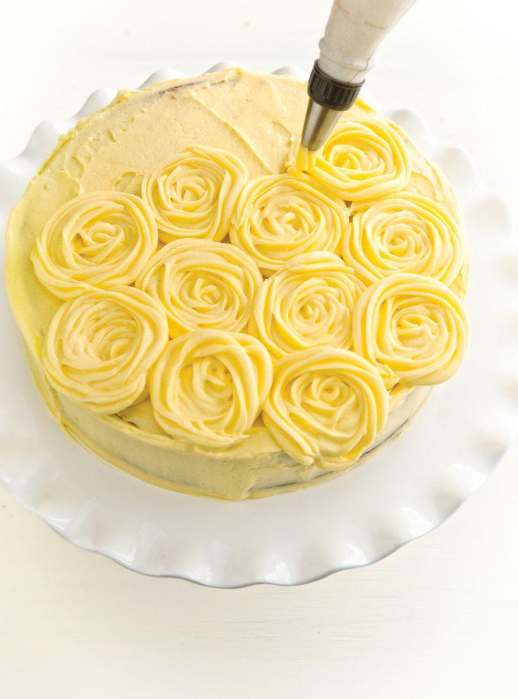 Recette de Ricardo : Glaçage au beurre au citron