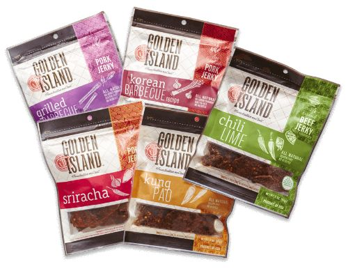 Enter to win a large Road Trip Prize Pkg. #sponsored by Golden Island Jerky on Two Classy Chics blog