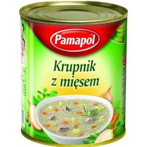 Pamapol Barley Soup with Meat Krupnik 780 g (Pack of 3)