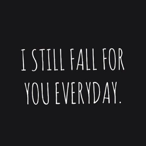 :) everyday for the rest of our lives baby