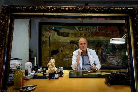 """KERAT art studio Uitnodiging tot Atelierbezoek ! Mag ik je verwelkomen tijdens de """" dag van de ambachten"""" van zondag 22 november. Frederik Cnockaert van het atelier """"Kerat"""" heeft je graag een blik achter de schermen van een Kunstrestaurateur !  In het atelier Kerat te Wervik verscholen in het groen, restaureren we sinds 2002 non stop aan kunstwerken. Kunstwerken hebben vaak door de tand des tijds te lijden gehad ........"""