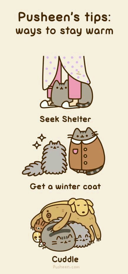 Ways to stay warm