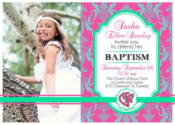 The 17 best Baptism images on Pinterest Christening invitations
