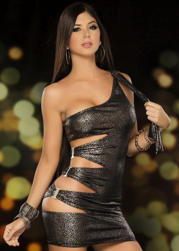 Sexy Clubwear Mini Dress, Sexy Silver Mini Dresses, Sexy Open Side Mini Dresses, Sexy Dresses I would totally rock this in vegas
